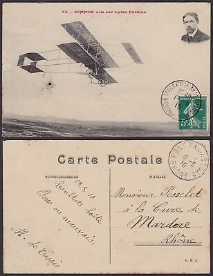 France 1910 - Postcard Aviation