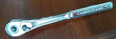 Craftsman 1/2 inch Drive Quick Release Teardrop Ratchet #44809 (Made in USA)