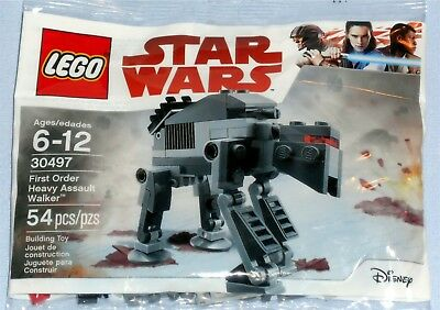 LEGO STAR WARS 30497 The Last Jedi First Order Heavy Assault Walker AT-AT -New !