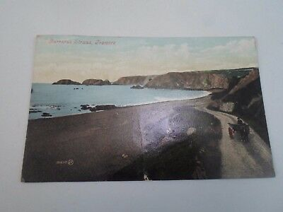 Vintage Postcard Garrarus Strand, Tramore, Waterford, Early 1900's     §A157