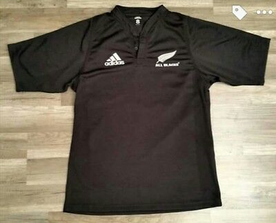 maillot rugby porté All Blacks Tri Nations 2004