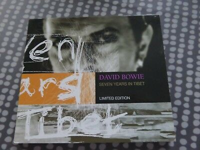 David Bowie - CD - Seven Years In Tibet - Rare Limited Edition in Glossy Card