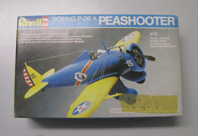 1:72 Revell 4117 Boeing P-26 A Peashooter