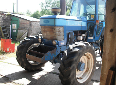 1986 Ford tractor 7910 four wheel drive
