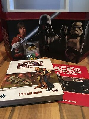 Star Wars RPG - Edge Of The Empire - Age Of Rebellion - Bundle