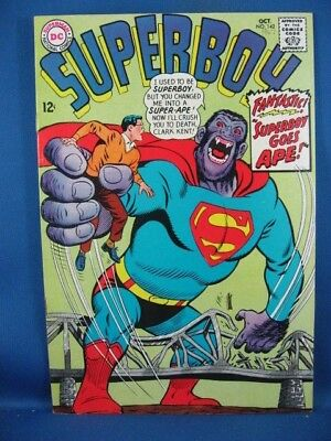 Superboy #142 (Oct 1967, DC) F VF