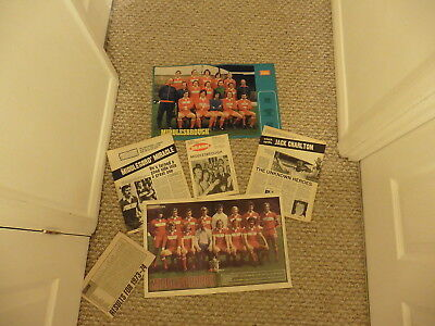 1975 Brann Bergen Middlesbrough +Pictures +Cuttings -Friendly -21/04/75 1974-75