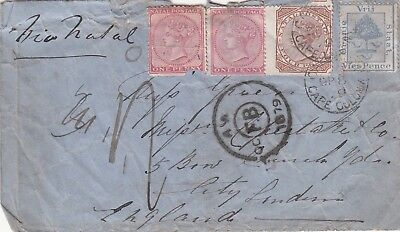Natal early cover to England