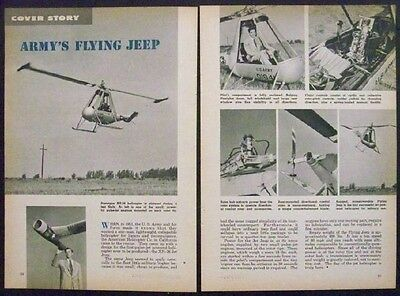 XH-26 Jet Jeep 1954 Experimental Pulse Jet powered helicopter