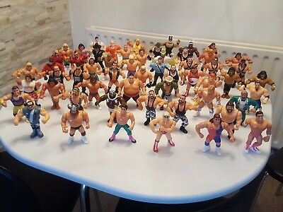 Wwf hasbro wrestling action figures job lot 56