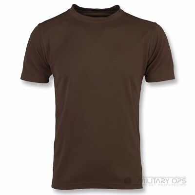 British Army Issue Self Wicking / Anti Static T-Shirts  Grade 1