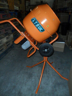 CEMENT MIXER CONCRETE MIXER WITH STAND 110 VOLT NEW  3.3 kw site transformer