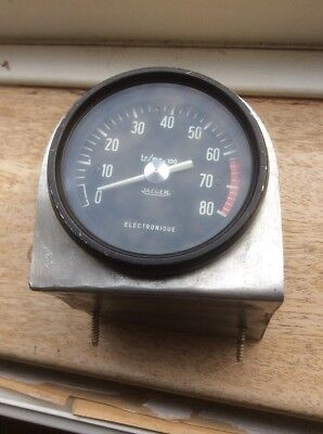 Used Jaeger 8000 Rpm Rev Counter 85mm Dia 4 Cyl Electronic