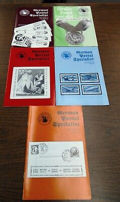 German Postal Specialist Literature
