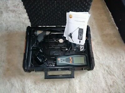 testo 327-1 flue gas analyser - combustion