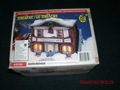 Wee Crafts Theatre  Ready to Paint (NIB)