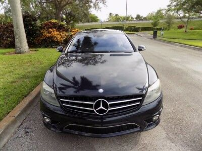2008 Mercedes-Benz CL-Class Base Coupe 2-Door 08 CL63 AMG CLEAN CARFAX NAVIGATION AMG WHEELS 1 OWNER SUNROOF XENON FL