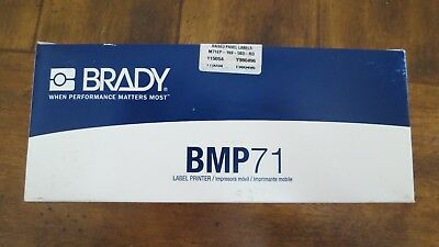 BRADY Label Cartridge,Red,1-4/5 In. W, M71EP-169-593-RD, Qty100 FREE SHIPPING