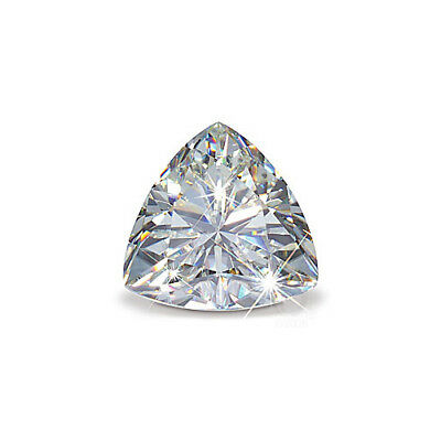 NEW 1.00ct VVS1-D Trillion Cut Loose Diamond 6mm Loose Sparkling Diamond Gift