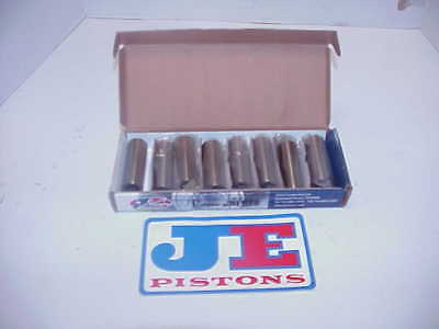 "8 NEW JE Wrist Pins .927"" x 2.750"" NASCAR L@@K Engine Builders .150"" Wall J2"