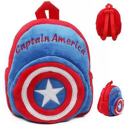 Cute Cartoon Toddler Kids Shoulder Bags Baby Boys Backpacks Schoolbag Rucksack