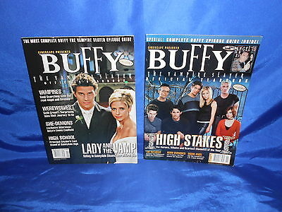 Cinescape Presents Buffy The Vampire Slayer Yearbook 1999 2000 Angel Spike VF/NM
