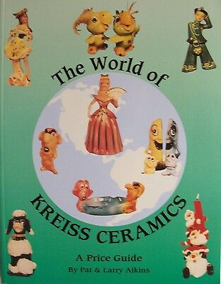 Vintage Kreiss Figurines Price Value Guide Collector's Book