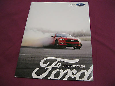 2017 Ford MUSTANG Brochure Prospekt Catalgue Depliant ENGLISH Rare SHELBY GT350