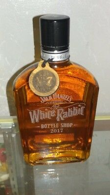 Jack Daniels Gentleman Jack Etched White Rabbit Ed Bottle w/ Tag