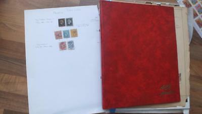 Old Germany And State  Stamps Collection
