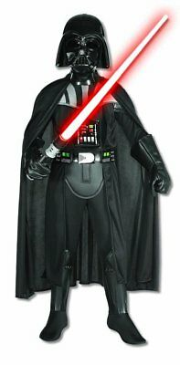 Rubie's Deluxe Kids Darth Vader Costume Black AS-IS NO MASK