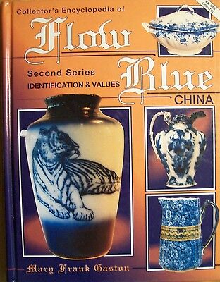 Flow Blue China Price Value Guide Book Summer SALE
