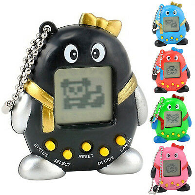 Funny 168 Pets in One Virtual Pet Cyber Pet Toy Tamagotchi Mini Penguins Best