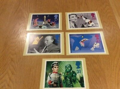 Childrens Television PHQ 182 - Mint PHQ Cards - Set of 5 Royal mail postcards