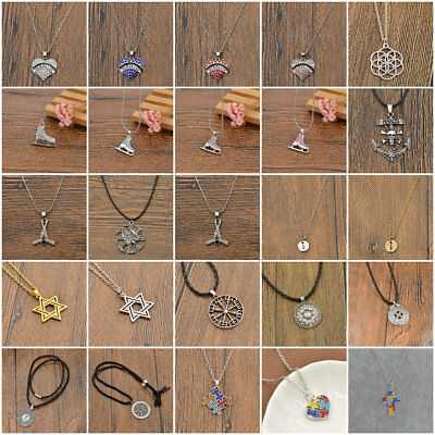 Various Shape Medical Viking Pendant Necklace Women Men Charm Jewelry Gift