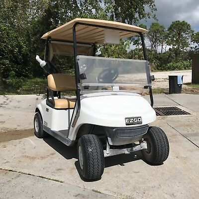 EZGO 2015 TXT 48V Golf Cart