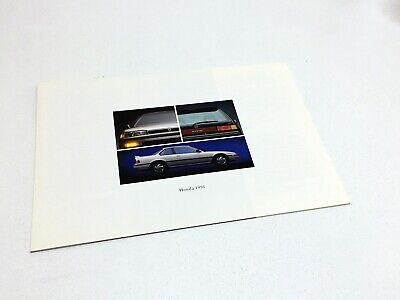 1991 Honda Accord Civic Prelude CRX Full Line Preview Brochure
