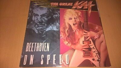 THE GREAT KAT - Beethoven On Speed - 1st PRESS 1990 THRASH ROADRUNNER METAL