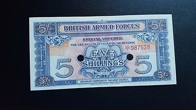 great britain military currency 5 shillings n352