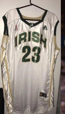 Cavs Lebron James Game Worn High School Tournament Jersey