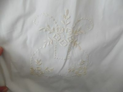 Antique Embroidered Christening Gown