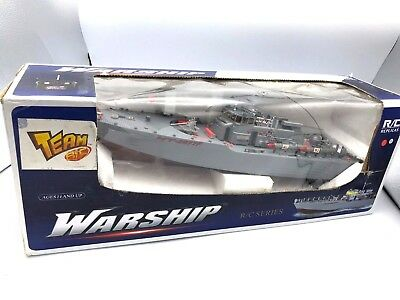 RC Missile Warship Radio Remote Control HT-2877 RTR Ship Battleship