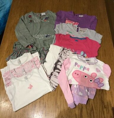 Bundle Of Girls Clothes Age 3-4, Includes Next, M&S, Peppa Pig