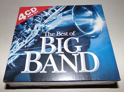The Best of Big Band by Various Artists 4 CD Set - Brand New Sealed
