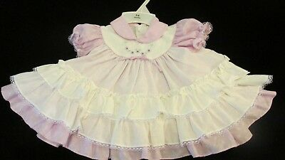 Vintage 3 Tier Ruffled Baby/Toddler Dress