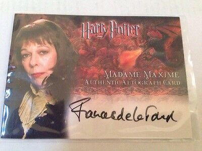 Harry Potter And The Goblet Of Fire Madam Maxine  Autograph Card