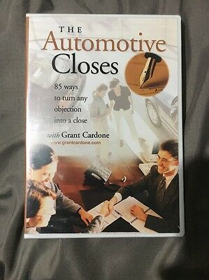 The Automotive Closes Grant Cardone Brand New Sealed