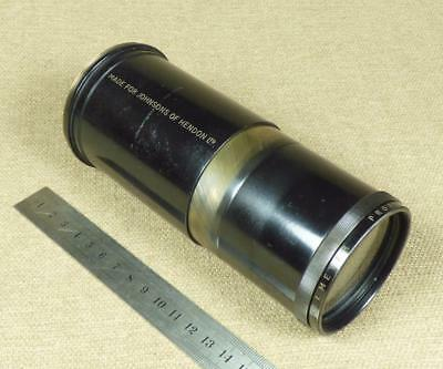DALLMEYER, f=12 inch - Vintage BRASS PROJECTION LENS - Johnsons of Hendon Ltd