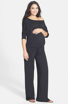 $172 Tart 'Michelle' Maternity Jumpsuit in Black Size Small New!