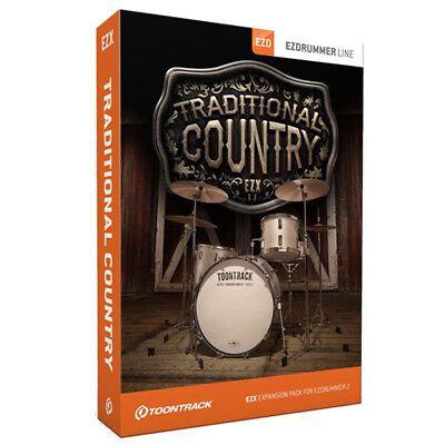 Toontrack EZX Traditional Country for EZ Drummer 2 or Superior Drummer 2/3